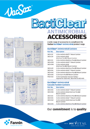 bacticlear accessories