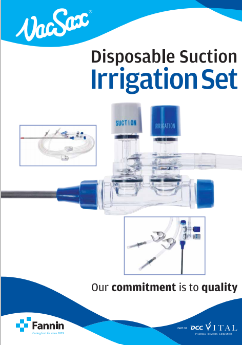 disposable suction irrigation